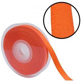 Raso 1 cara 10 mm Naranja