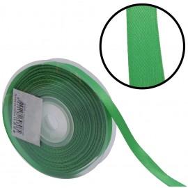 Raso 1 cara 10 mm Verde Hierba