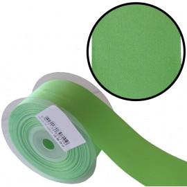 Raso 1 cara 40 mm Verde Hierba