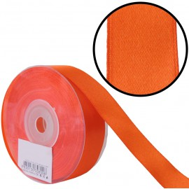 Raso 1 cara 20 mm Naranja