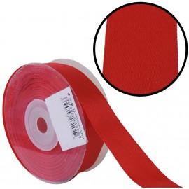 Raso 1 cara 20 mm Rojo