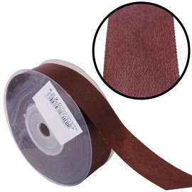 Raso 1 cara 20 mm Marron