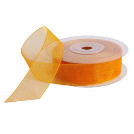 Cinta Organza 20 mm Amarillo
