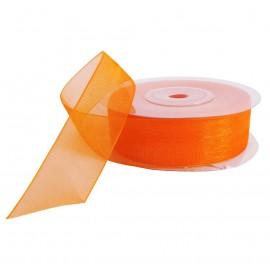 Cinta Organza 20 mm Naranja