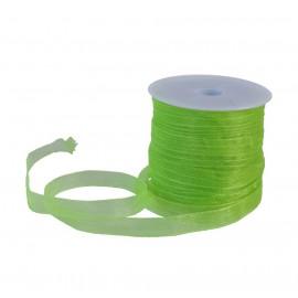 Cinta Organza 6 mm Verde Lima