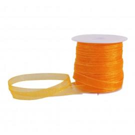 Cinta Organza 6 mm Naranja