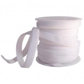 Cinta Terciopelo 7mm Blanco