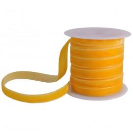 Cinta Terciopelo 7mm Amarillo