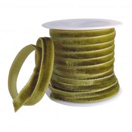 Cinta Terciopelo 7mm Verde