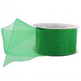 Cinta Organza 40 mm Verde