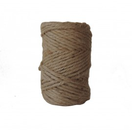 Rollo Cuerda Yute Natural 35 mts