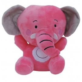 Peluche Elefante Rosa 17 cm