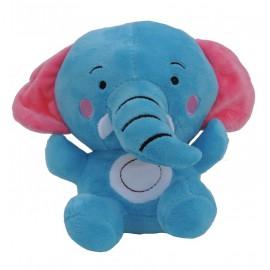 Peluche Elefante Azul 17 cm