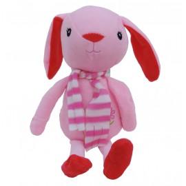Peluche Conejito Rosa 28 cm