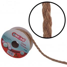 Cuerda Trenzada Yute 5 mm