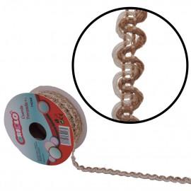 Cuerda Ondas Blanco Yute 8 mm
