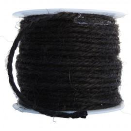 Cuerda de Lino Ø 2mm Negro