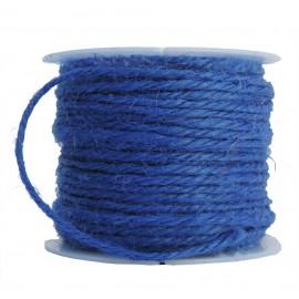 Cuerda de Lino Ø 2mm Azul