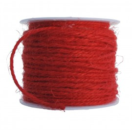 Cuerda de Lino Ø 2mm Rojo