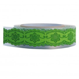 Washi Tape Verde Dalias