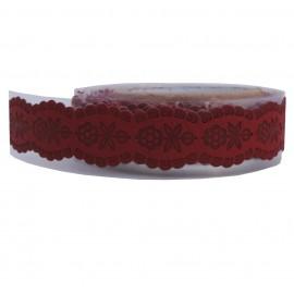 Washi Tape Rojo Margaritas