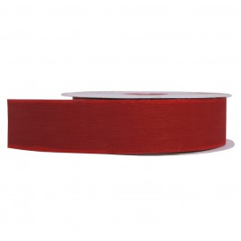 Cinta Plastico Brillo 18mm Rojo