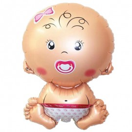 Globo Bebe Niña 70x45 cm Foil