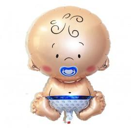 Globo Bebe Niño 70x45 cm Foil