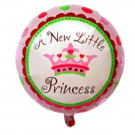 Globo Pequeña Princesa Ø 44 cm Foil
