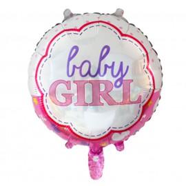 Globo Baby Girl Ø 44 cm Foil