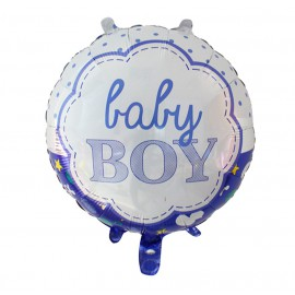 Globo Baby Boy Ø 44 cm Foil