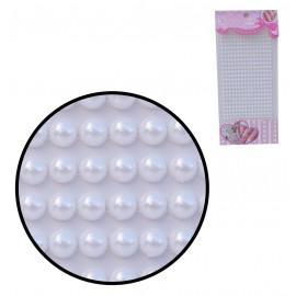 Perlas Blancas Pequeñas 3mm Stickers