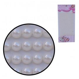 Perlas Beige Pequeñas 3mm Stickers