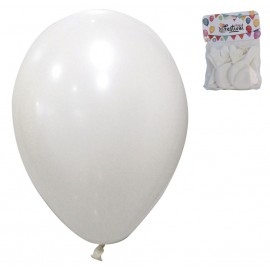 Globos Blancos Ø 25 cm (12 uds) Latex