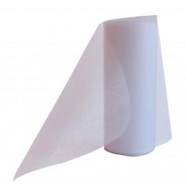 Cinta Organza Blanco 14cm x ↕9mts