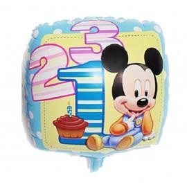 Globo Mickey Bebe 44cm Foil