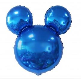 Orejitas Mickey Azul 40cm Foil