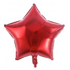 Estrella Rojo 44cm Foil