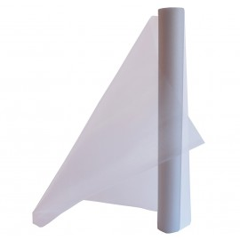 Organza 48 cm x 4,5 mts Blanco