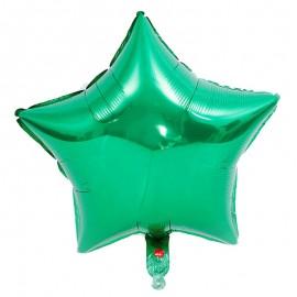 Estrella Verde 44cm Foil