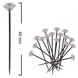 Alfiler Diamante Pequeño 40 mm (100 ud)