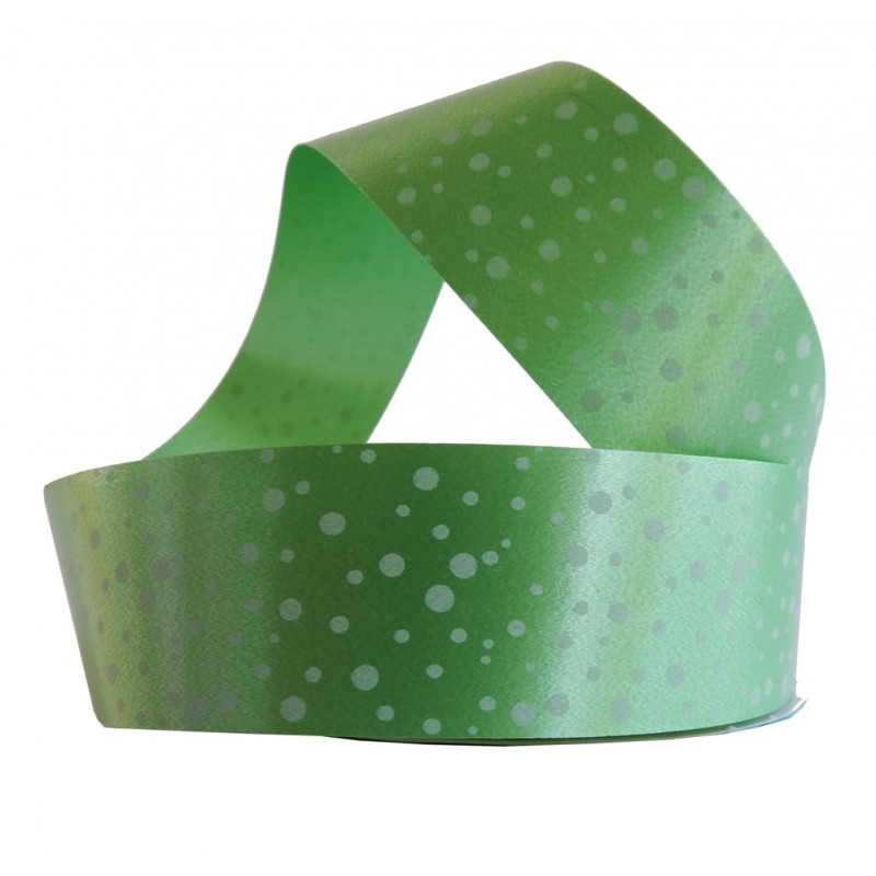 Cinta de Regalo 30mm x 6 mt Verde