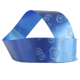Cinta de Regalo 30mm x 6 mt Azul