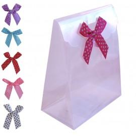 Bolsa Plastico ↕ 11,5 Lazo Colores
