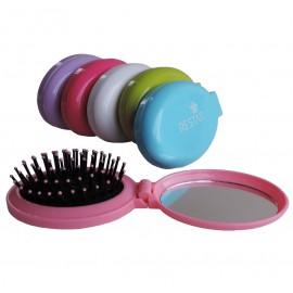 Cepillo con Espejo Plegable Colores