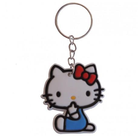 Llavero Hello Kitty Sentada Goma pvc