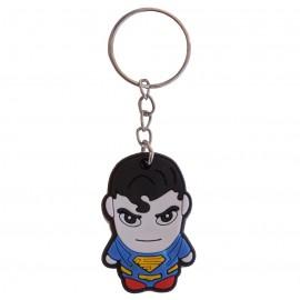 Llavero Superman Goma pvc
