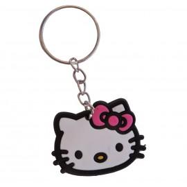 Llavero Hello Kitty Cara Goma pvc