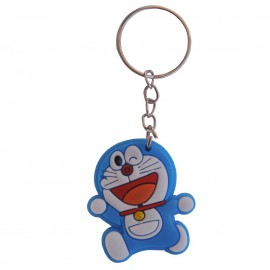 Llavero Doraemon Feliz Goma pvc