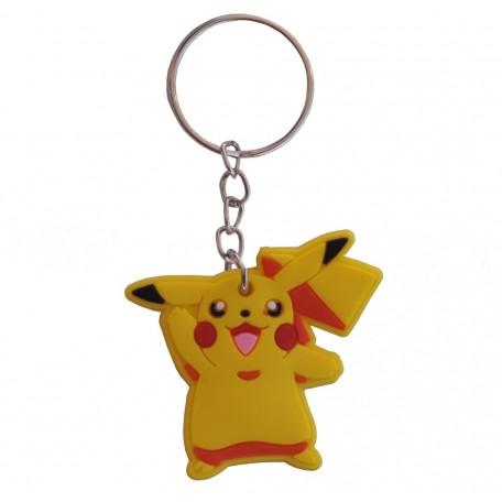 Llavero Pikachu Goma pvc